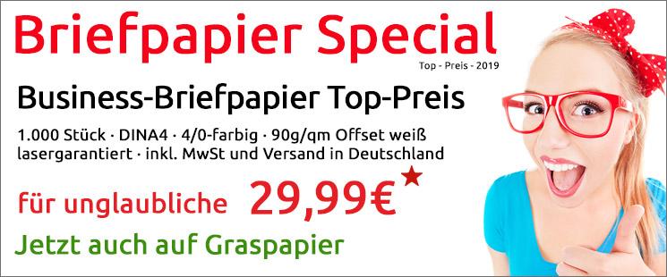 Briefpapier-Spezial