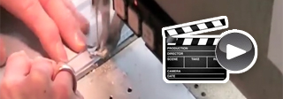 Beispiel Video Alu-Spannbilder