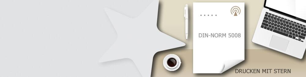 DIN-Norm für Briefpapier-Vorlagen