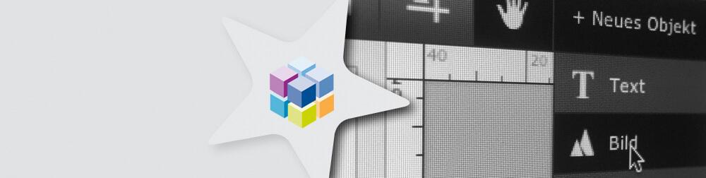 Online-Gestaltungs-Tool für Banner