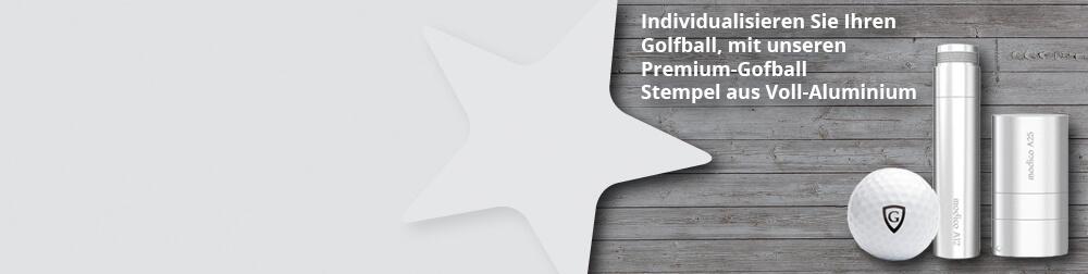 Golfballstempel zu bedrucken von Golfbällen