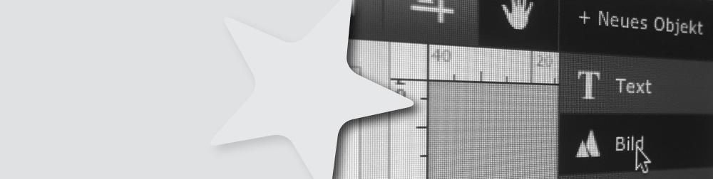 gestalte deine Grossflaechenplakate  mit unserem Onlinegestalter