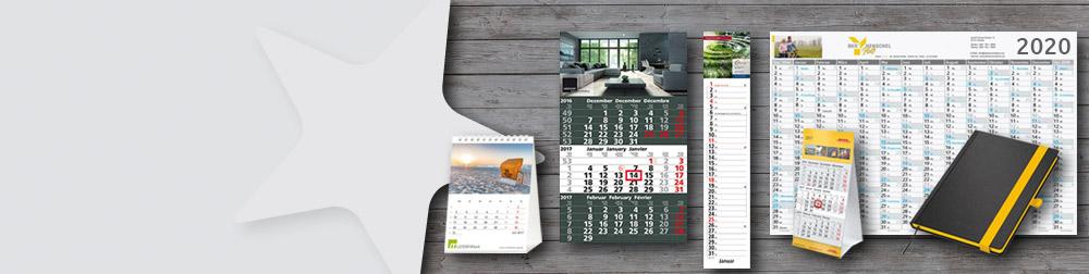 Übersicht 4 Monatskalender