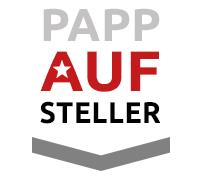 Papp-Aufsteller